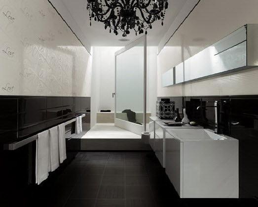 Badkamertegels Zwart Wit: Nl loanski badkamertegels zwart wit.