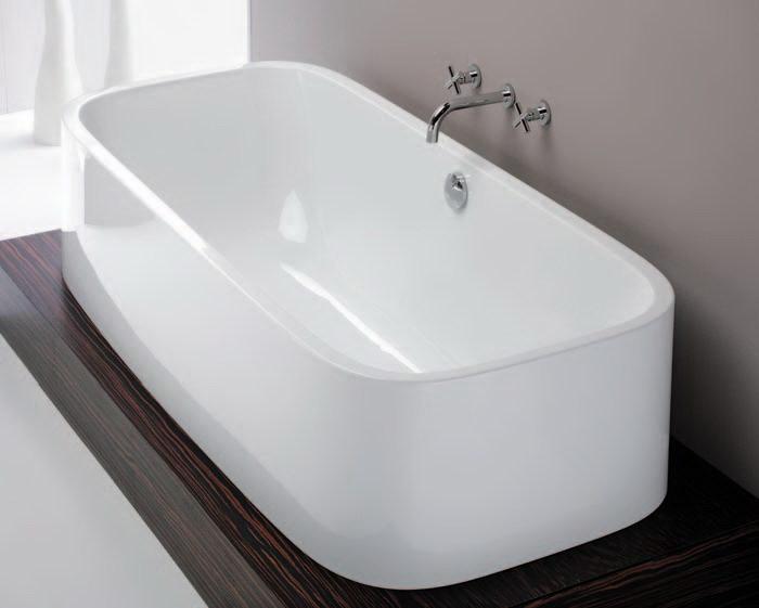 Ligbaden hoesch duo en single voor perfecte ontspanning - Deco kleine badkamer met bad ...