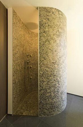 Badkamer ideeen mozaiek badkamer verbouwing inspiratie g - Wc mozaiek ...