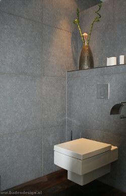 Toilet verbouwen kijk hier voor wc ideeen for Idee betegelde toiletruimte