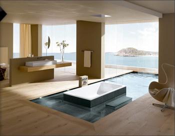 Kaldewei bassino groot bad met lage instap