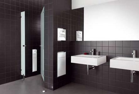 Keuco plan integral uw wc accessoires weggewerkt - Integrale badkamer ...