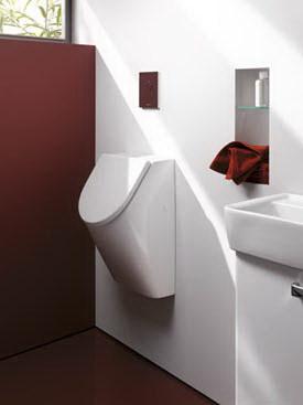 waterbesparend urinoir keramag renova. Black Bedroom Furniture Sets. Home Design Ideas