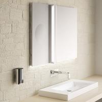 Emco lichtspiegels met cosmeticaspiegel - Uitzonderlijke badkamer ...