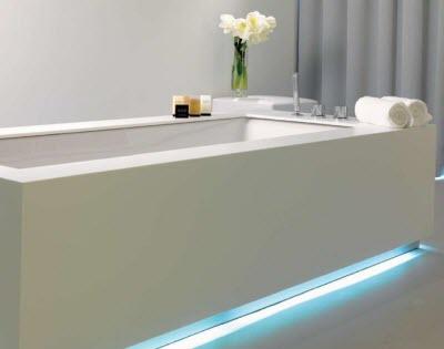 led verlichting bad theedens uw totaal installateur badkamerverlichting