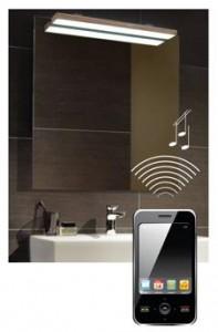 Spiegel iphone ipad en bluetooth