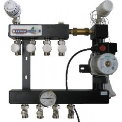 Henco 1 groeps regelunit vloerverwarming UFH-0405-ST1