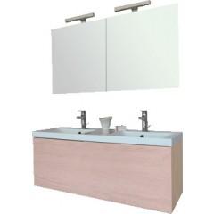 Sanijura Blog+ badkamermeubel 120 cm gebleekt hout 570022133