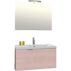Sanijura Blog+ badkamermeubel 90 cm gebleekt hout 570012133
