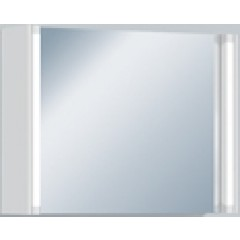 Alape SPS.SE800 spiegelkast met verlichting 80cm eiken 6406520609