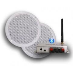 Aquasound bluetooth 50w music center met bolero speakerset zwart BMC50EASY