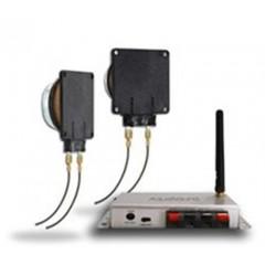 Aquasound bluetooth 50w music center met new wave speakerset zwart BMC50EASYNW