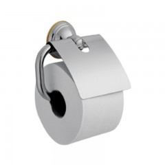 Axor Carlton closetrolhouder chroom /verguld met klep