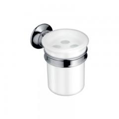 Axor Montreux glashouder met tandenborstelhouder chroom 42034000