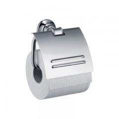 Axor Montreux closetrolhouder met klep brushed nikkel 42036820