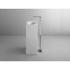 Bette Bowl Monolith vrijstaande wastafel zonder kraangat 35x35 wit A020000
