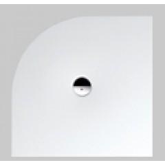 Bette Floor Corner douchebak plaatstaal dikwandig kwartrond 100x100cm pergamon 5451001