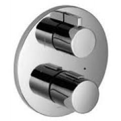 Dornbracht L 'Aura afbouwdeel voor inbouw badkraan thermostatisch met omstel chroom 3642696900