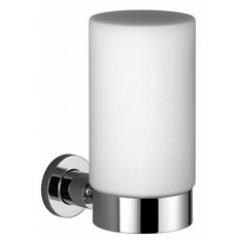 Dornbracht Tara wandlamp met opaalglas klein chroom 8330589200