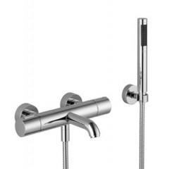 Dornbracht Divers badkraan thermostatisch met garnituur met koppelingen chroom 3423397900