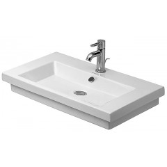Duravit 2Nd Floor wastafel 3 kraangaten 70x46 wit 491700030
