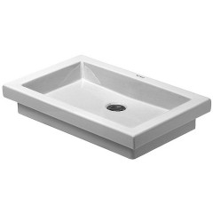 Duravit 2Nd Floor wastafel 58x41,5 wit WG 3175800291