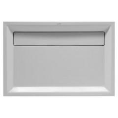 Duravit 2nd floor kunststof douchebak acryl rechthoekig 80x120x10.5cm wit 720045000000000