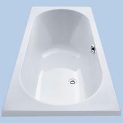 Duscholux Ancona 112 kunststof bad acryl rechthoekig 180x80cm z. poten wit 603112000001
