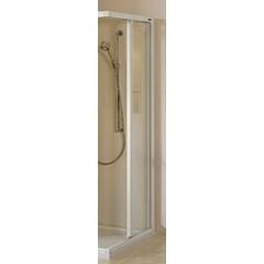 Duscholux Carat schuifdeur 2-delig voor hoekinstap (per zijde) 100x190cm rechts platzilver/helder 291439090551062