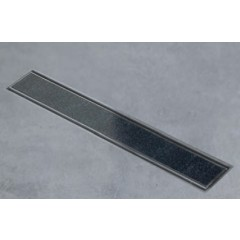 Easy Drain AquaJewels Linea tegel 40cm M2 met zijuitlaat 50mm waterslot 50mm AJL-40-M2-50-T