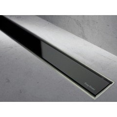Easy Drain Modulo TAF rooster 100cm glas zwart MLGS1000