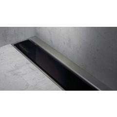Easy Drain Modulo wall TAF rooster 60cm glas zwart MLWGS600