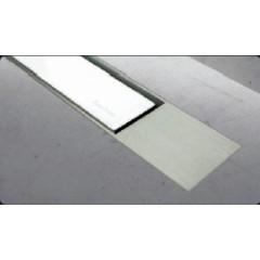 Easy Drain Modulo TAF designrooster Z2 mat 100cm glas wit MTAFDZ2MGW1000