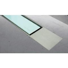 Easy Drain Modulo TAF designrooster Z2 mat 100cm glas groen MTAFDZ2MGG1000