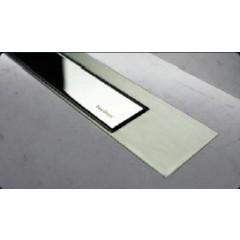 Easy Drain Modulo TAF designrooster Z3 gepolijst 120cm zero met mat MTAFDZ3PZM1200