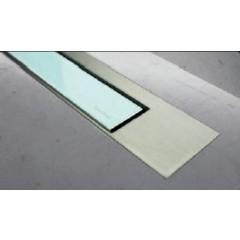 Easy Drain Modulo TAF designrooster Z3 mat 90cm glas groen MTAFDZ3MGG900