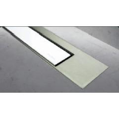 Easy Drain Modulo TAF designrooster Z3 mat 90cm glas wit MTAFDZ3MGW900