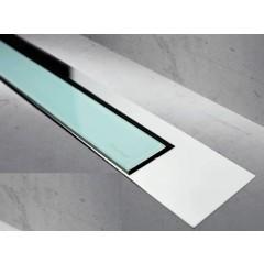 Easy Drain Modulo TAF designrooster Z3 gepolijst 100cm glas groen MTAFDZ3PGG1000