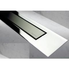 Easy Drain Modulo TAF designrooster Z4 gepolijst 100cm zero met gepolijst MTAFDZ4MZP1000