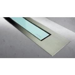 Easy Drain Modulo TAF designrooster Z4 mat 120cm glas groen MTAFDZ4MGG1200