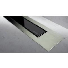 Easy Drain Modulo TAF designrooster Z4 mat 100cm glas zwart MTAFDZ4MGS1000