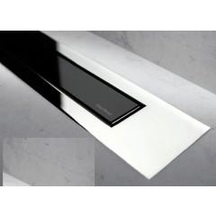 Easy Drain Modulo TAF designrooster Z4 gepolijst 100cm glas zwart MTAFDZ4PGS1000