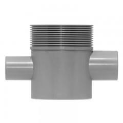 Easy Drain Multi sifonhuis zijuitloop hoog 50mm met inloop 40mm t.b.voor wastafel EDMSI2