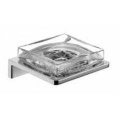 Emco Asio zeephouder wandmodel met kristalglas helder chroom 133020400