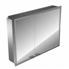 Emco Asis Prestige inbouw spiegelkast met radio 815x665mm aluminium 989705033