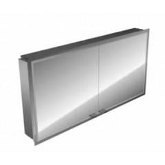 Emco Asis Prestige inbouw spiegelkast met radio 1215x637mm aluminium 989705035