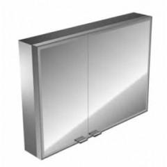 Emco Asis Prestige spiegelkast met radio 787x637mm aluminium 989705030