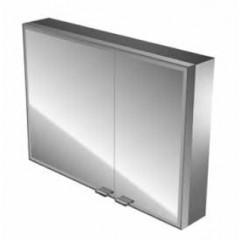 Emco Asis Prestige spiegelkast zonder radio 887x637mm aluminium 989705043