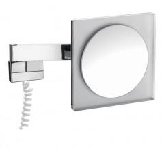 Emco scheerspiegel met LED-verlichting met snoer chroom 109600105