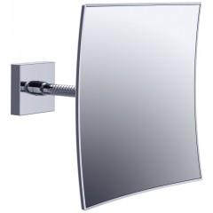 Emco scheer- en cosmeticaspiegel vierkant met flexibele arm 20.3x20.3cm 109500107